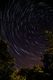 Star trails 1 Royalty Free Stock Image