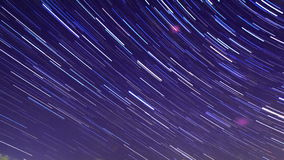 Star Trails. Time Lapse stock video