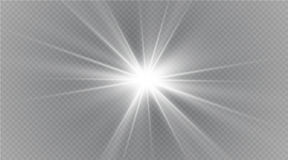 Star on a transparent background,light effect,vector illustration. burst with sparkles. Sun.Special effect isolated on transparent background.spark Royalty Free Stock Photography