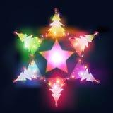 Star tree Royalty Free Stock Image