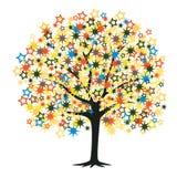 Star tree Royalty Free Stock Photo
