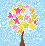 Star tree Stock Photography