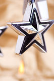 Star tree decoration Royalty Free Stock Images