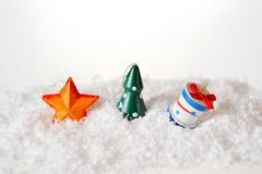 Star tree and gift Royalty Free Stock Photography