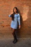 Star Trek flicka på Lucca komiker och lekar 2014 Arkivbilder