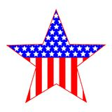 Star United States symbol stock photography