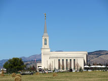 Star Valley Temple Royalty Free Stock Photo