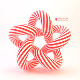 Star. Vector 3D illustration Stock Images