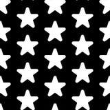 Star vector icon, rank, favorite web symbol seamless pattern.  Stock Photography