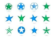 Star vector logos Stock Photo