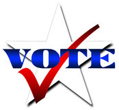 Star Vote Stock Photography