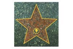 Star walk of fame Stock Photo