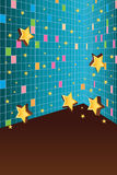 Star wall cute Royalty Free Stock Images