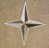 Star wall pattern Stock Photo