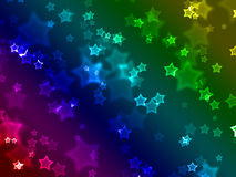 Star wallpaper Stock Photography