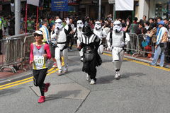 Star War Runner Royalty Free Stock Photos