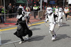 Star War Runner Stock Photo