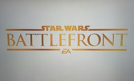 Star wars battlefront logo Stock Photos