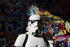 Star Wars brutal illustration stock