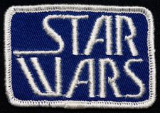 Star Wars Cast & Crew Patch 1976 Stock Photo