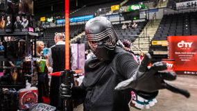 Star Wars Cosplay Royaltyfri Bild