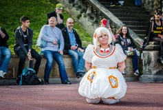 Star Wars cosplay stock photography