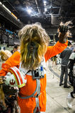 `Star Wars` cosplay Royalty Free Stock Photos