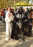 Star Wars cosplayers przy Lucca komiczkami 2014 i grami zdjęcie stock