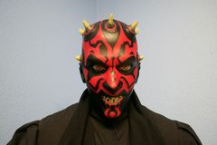 Star Wars Darth Maul statua Zdjęcia Royalty Free