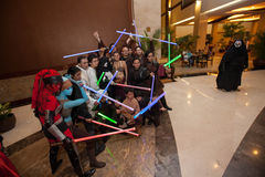 Star Wars Day-Jakarta May 18th 2013 Stock Image