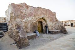 Star Wars de film dans le désert du Sahara Image stock