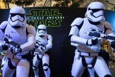 Star Wars: De kracht wekt Royalty-vrije Stock Foto's
