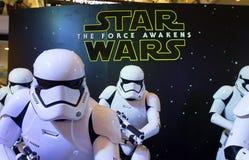 Star Wars: De kracht wekt Stock Foto