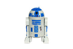 Star wars droid. Flash in the form of the droid R2D2 Stock Photography