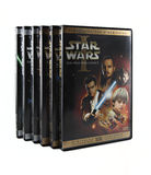 Star Wars DVD set Stock Images