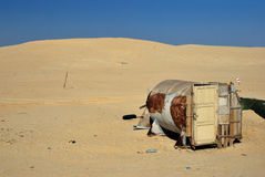Star Wars film set, Tunisia Stock Images