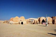 Star Wars film set, Tunisia Royalty Free Stock Photo