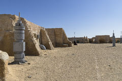 Star Wars film set, Tunisia Stock Photo