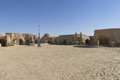 Star Wars film set, Tunisia Royalty Free Stock Photography