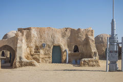 Star Wars film set, Tunisia Royalty Free Stock Image