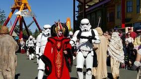 Star Wars filmvärld Arkivfoton