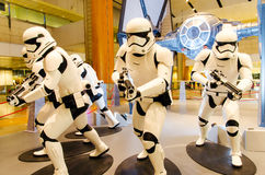 Star Wars an Flughafen Singapurs Changi Stockfotos