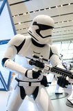 Star Wars an Flughafen Singapurs Changi Lizenzfreie Stockfotografie