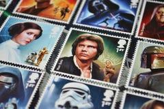 Star Wars Han Solo stockfotos