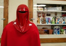 Star Wars Imperial Guard Statue Royalty Free Stock Photo