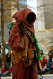 Star Wars Jawa Character Walks In Atlanta Christmas Parade Royalty Free Stock Photography