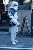 Star Wars kawalerzysta w Japonia Fotografia Royalty Free