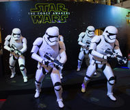 Star Wars : La force se réveille Photos stock