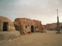 Star wars landscape Tatooine Stock Photo