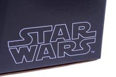 Star Wars logo Fotografering för Bildbyråer